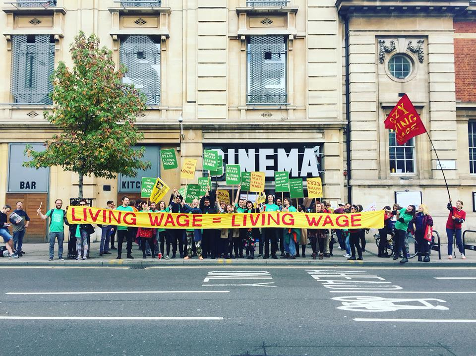 Picturehouse support solidarity