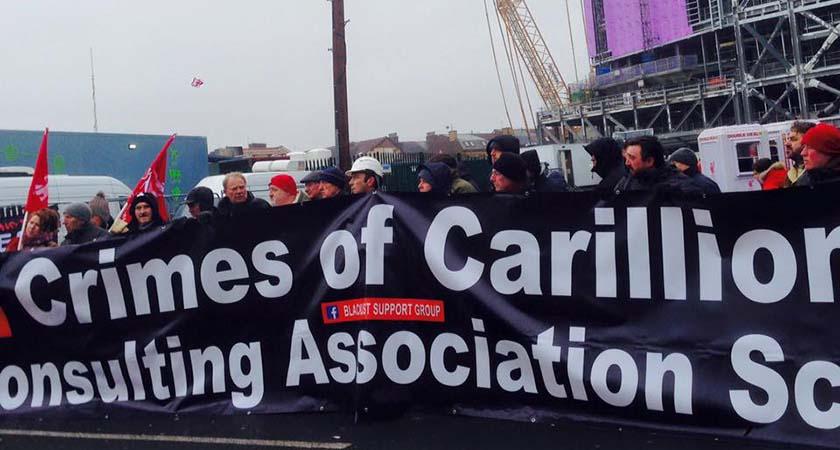 Carillion protest